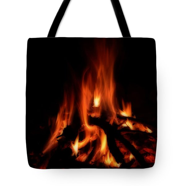 The Fire Tote Bag by Donna Greene