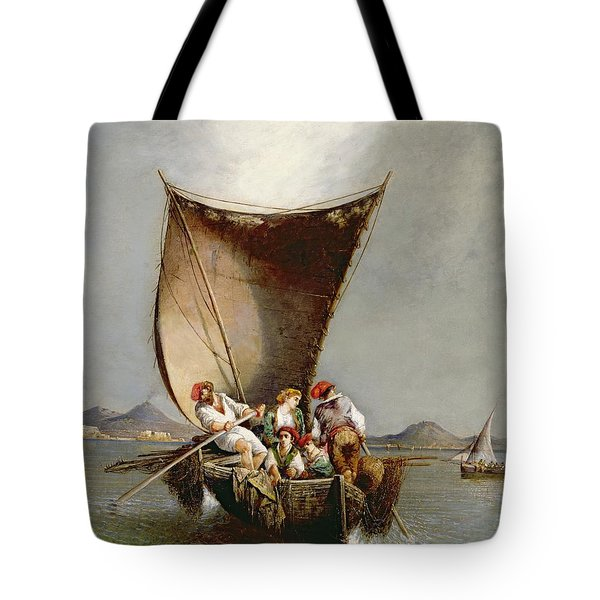 The Fisherman's Family Tote Bag by Consalvo Carelli