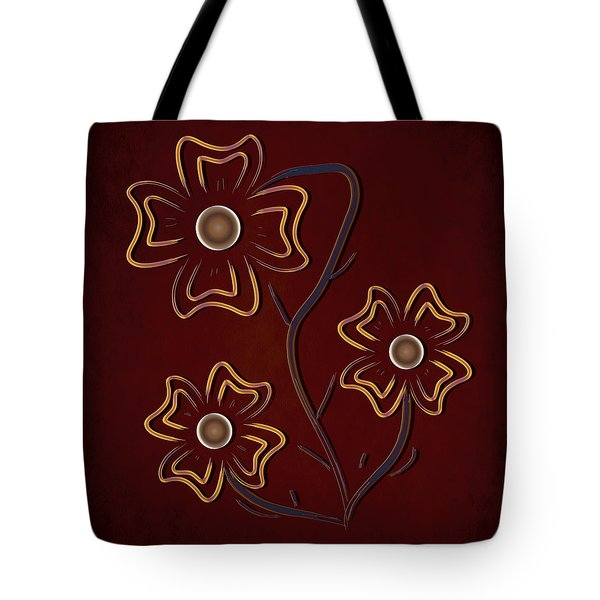 The Flowers  Tote Bag by Milena Ilieva
