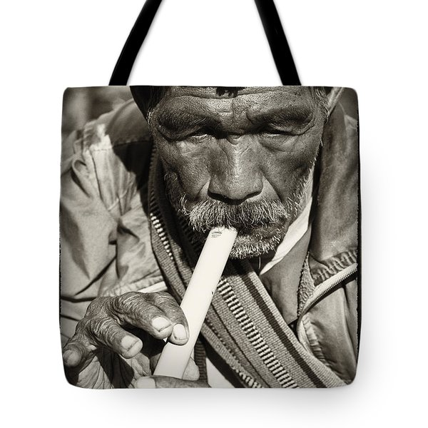 The Flute Tote Bag by Skip Nall