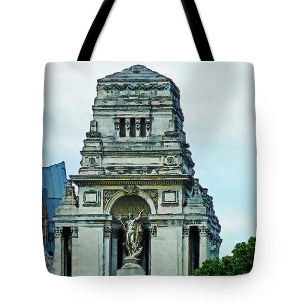 The Former Port Of London Authority Building Tote Bag by Steve Taylor