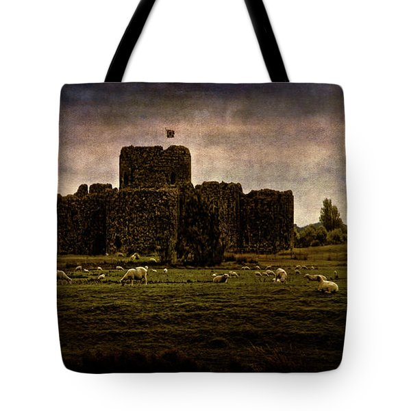 The Fortress Of Minas Morgul Tote Bag by Chris Lord