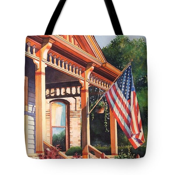The Founders Home Tote Bag