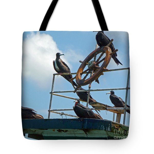 The Frigate Crew Tote Bag