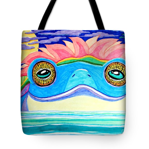 The Frog King Tote Bag