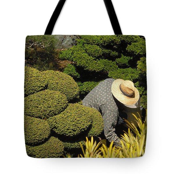 The Gardener Tote Bag by Richard Reeve