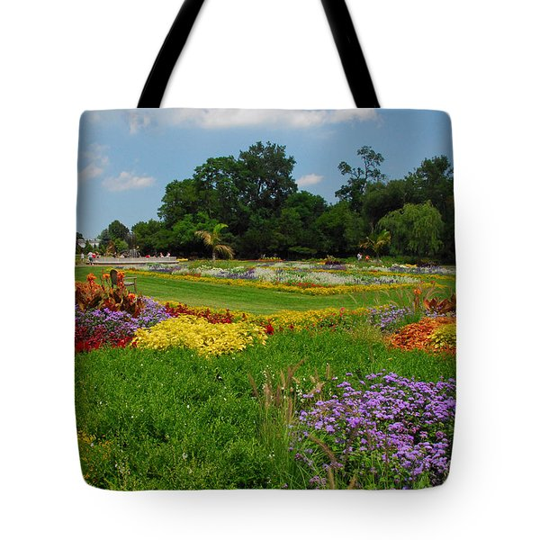 Tote Bag featuring the photograph The Gardens Of The Conservatory by Lynn Bauer