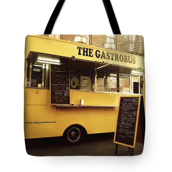 The Gastrobus Tote Bag by Nina Prommer