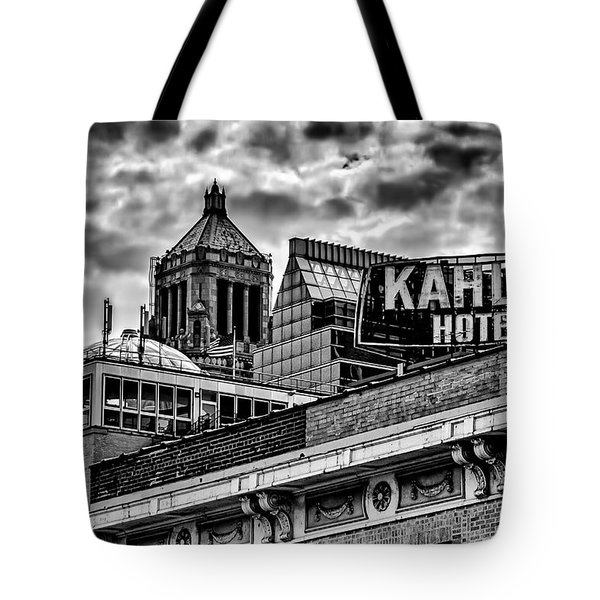 Tote Bag featuring the photograph The Gathering Storm by Tom Gort