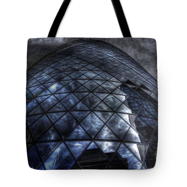 The Gherkin - Neckbreaker View Tote Bag by Yhun Suarez