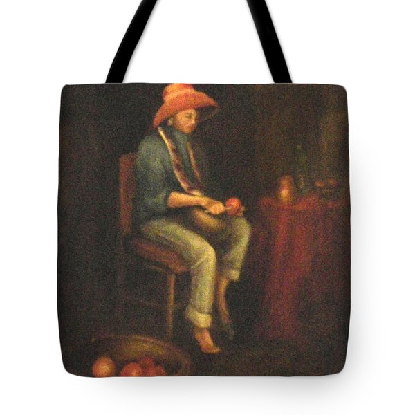 The Girl Tote Bag