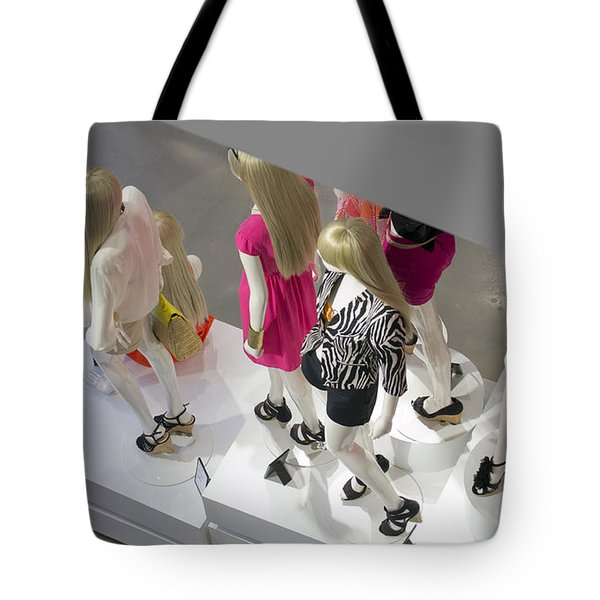 The Girls Tote Bag by Lisa Plymell