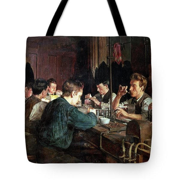 The Glass Blowers Tote Bag