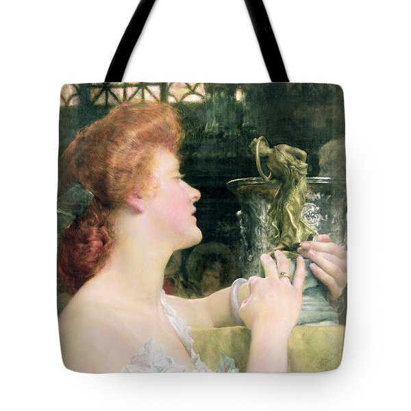 The Golden Hour Tote Bag by Sir Lawrence Alma-Tadema
