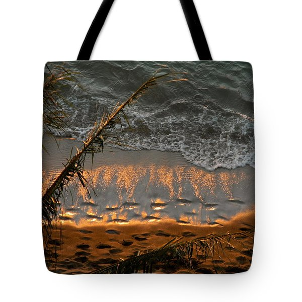 The Golden Moment IIi Tote Bag by Kirsten Giving