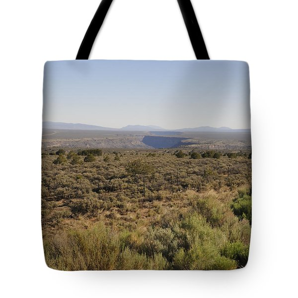 The Gorge On The Mesa Tote Bag