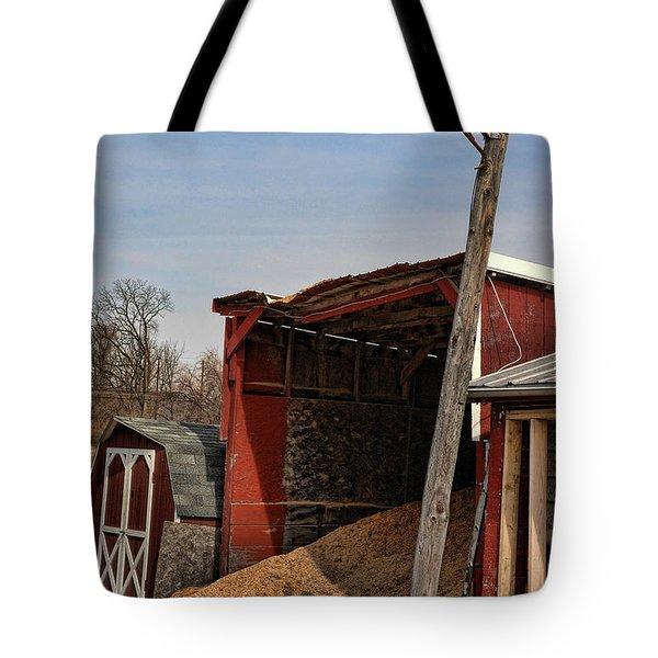 The Grain Barn Tote Bag by Paul Ward