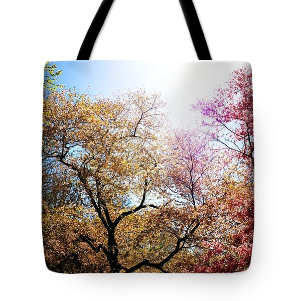 The Grandest Of Dreams - Cherry Blossoms - Brooklyn Botanic Garden Tote Bag by Vivienne Gucwa