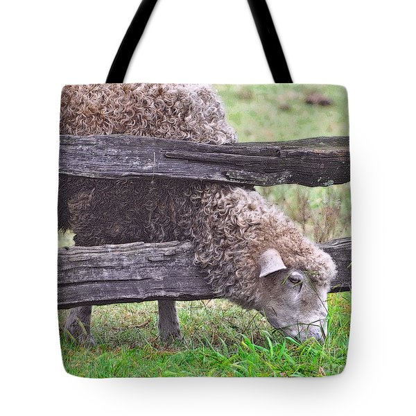 Tote Bag featuring the photograph The Grass...on The Other Side by Lydia Holly