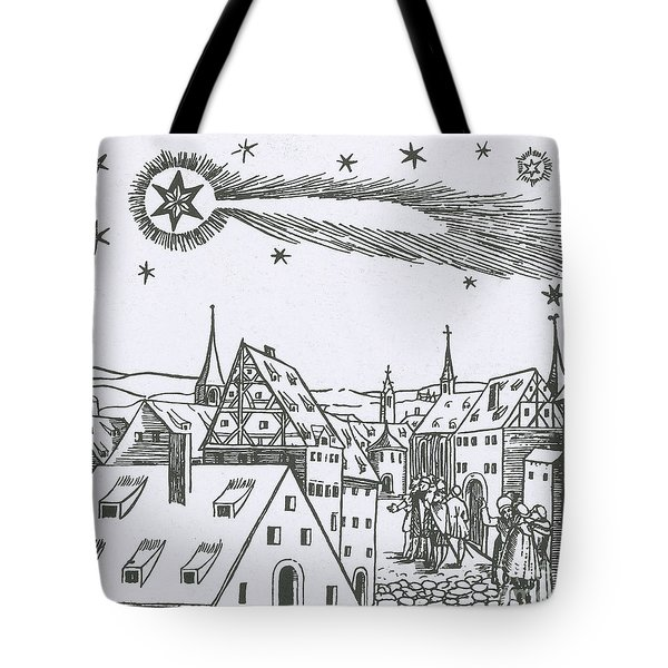 The Great Comet Of 1556 Tote Bag by Science Source