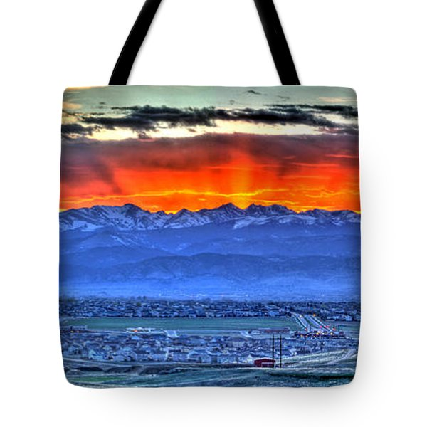 The Great Sunset Tote Bag by Scott Mahon