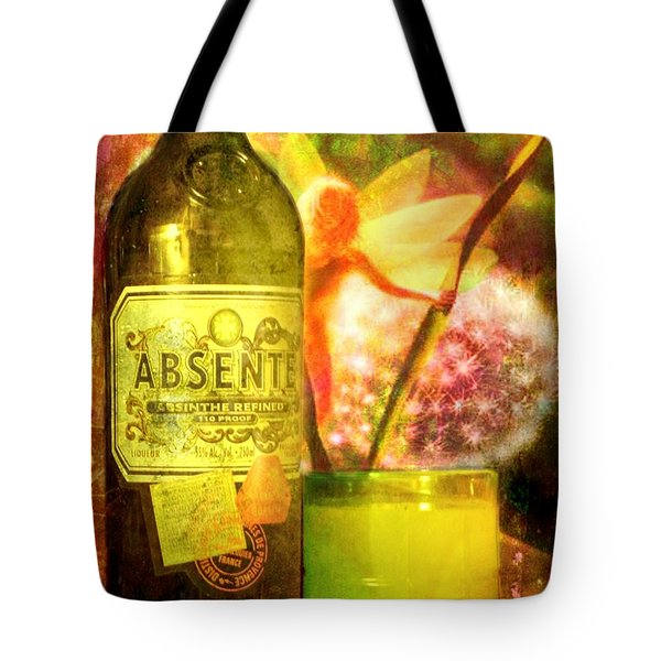 The Green Fairy Tote Bag by Leah Moore