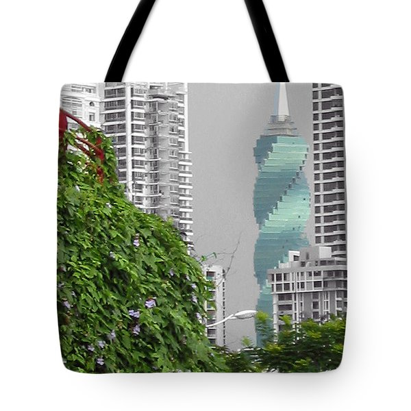 The Green Season In Panama Tote Bag