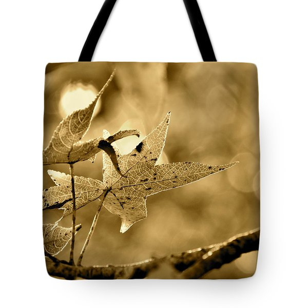 The Gum Leaf Tote Bag