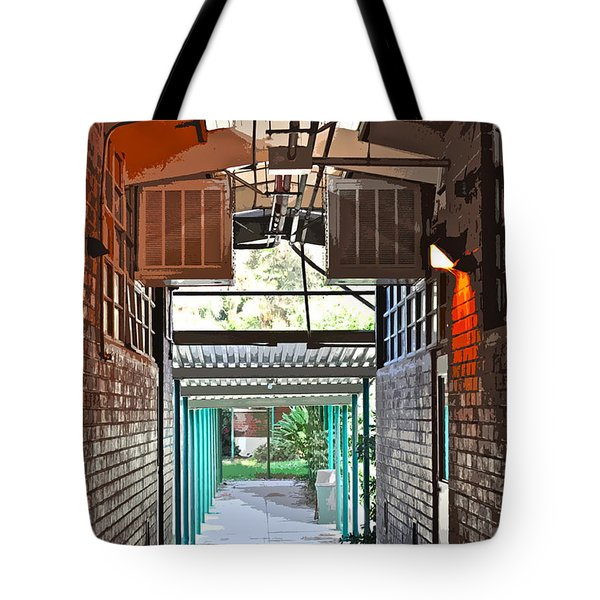 The Hallway Tote Bag by Gwyn Newcombe