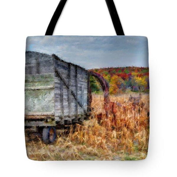 The Harvester Tote Bag by Michael Garyet