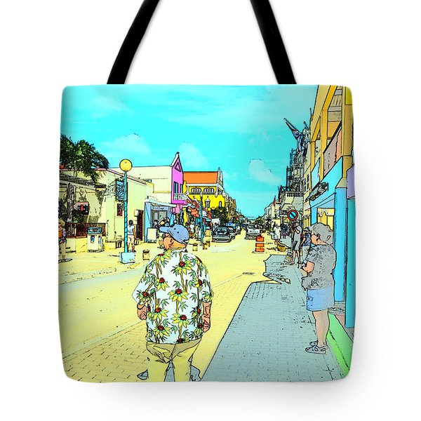The Hawaiian Shirt Tote Bag