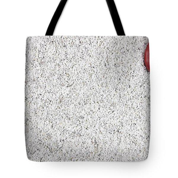 The Heart In The Sand Tote Bag by Joana Kruse
