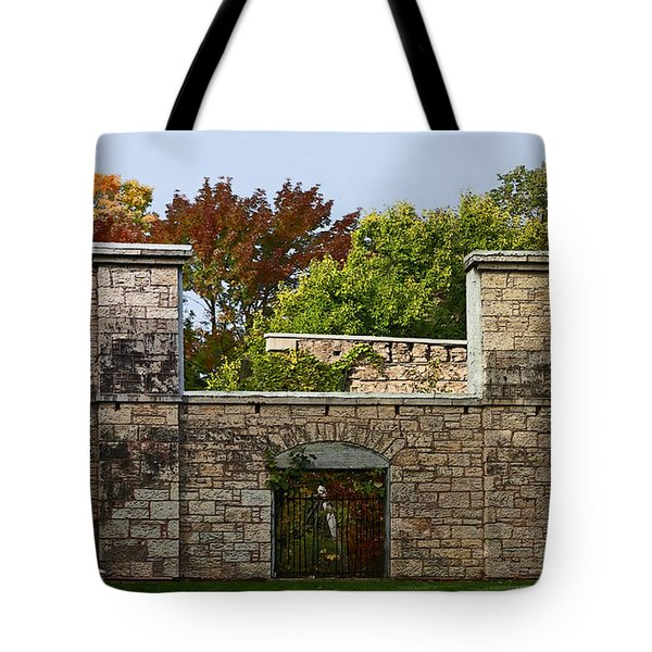 The Hermitage Tote Bag by Barbara McMahon