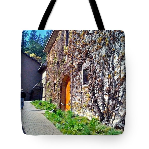 The Hess Collection - Napa Ca Tote Bag