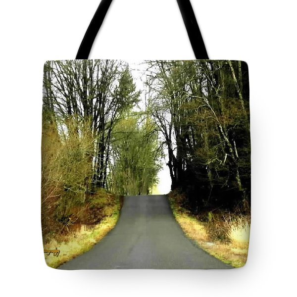 The High Road Tote Bag by Sadie Reneau
