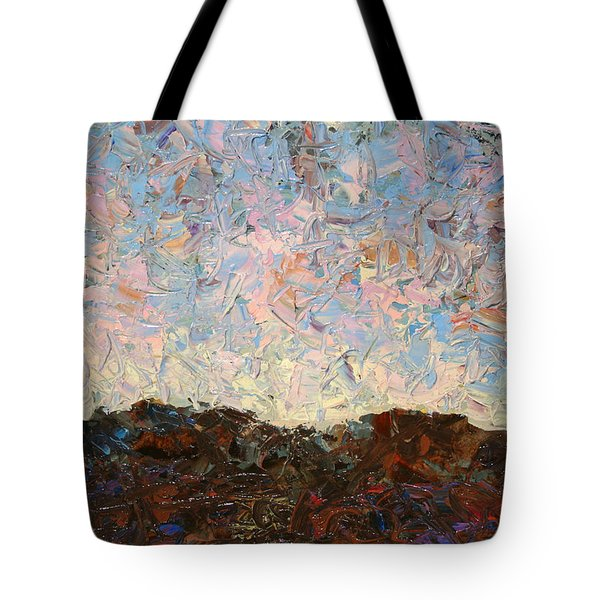 The Hills Tote Bag by James W Johnson