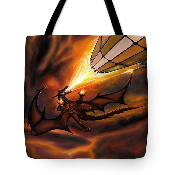 The H.m.s. George  Tote Bag by James Christopher Hill