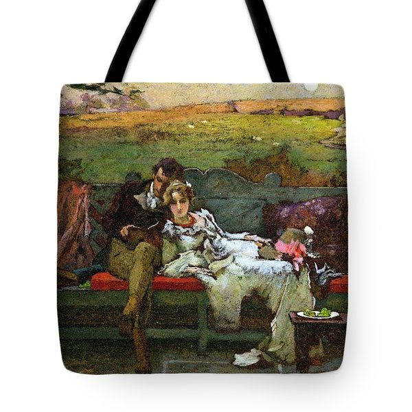 The Honeymoon Tote Bag by Marcus Stone