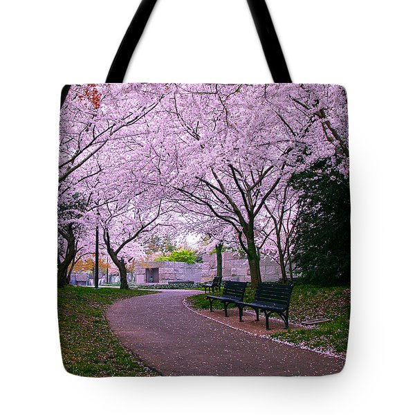 The Hope Tote Bag by Mitch Cat