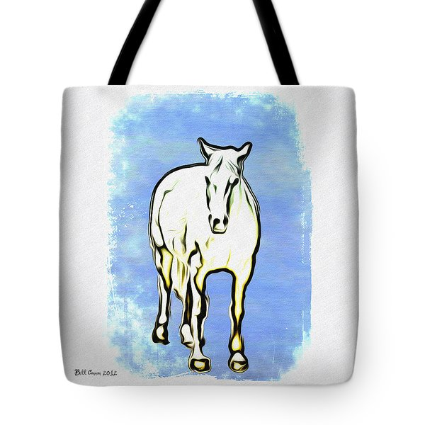The Horse Tote Bag by Bill Cannon