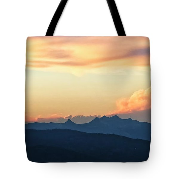 Tote Bag featuring the photograph The Idaho Selkirks by Albert Seger