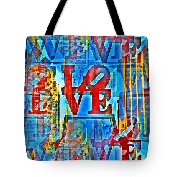 The Illusion Of Love Tote Bag by Bill Cannon