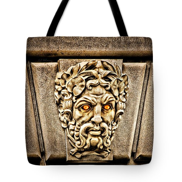 The Incensed Scowler  Tote Bag by Christopher Holmes