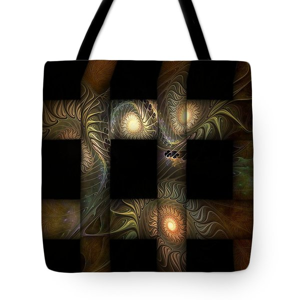 Tote Bag featuring the digital art The Indomitability Of The Idea by Casey Kotas