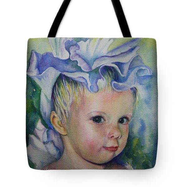 The Iris Princess Tote Bag