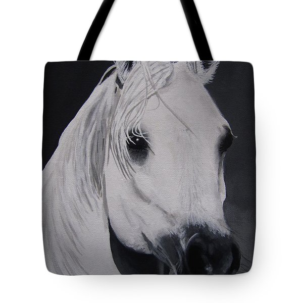 The Ivory Queen Tote Bag by Kayleigh Semeniuk