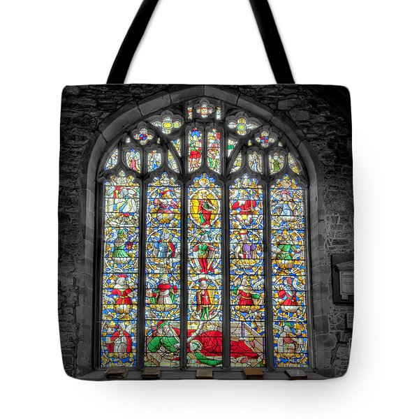 The Jesse Window  Tote Bag by Adrian Evans
