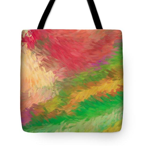 The Journey Tote Bag by Deborah Benoit