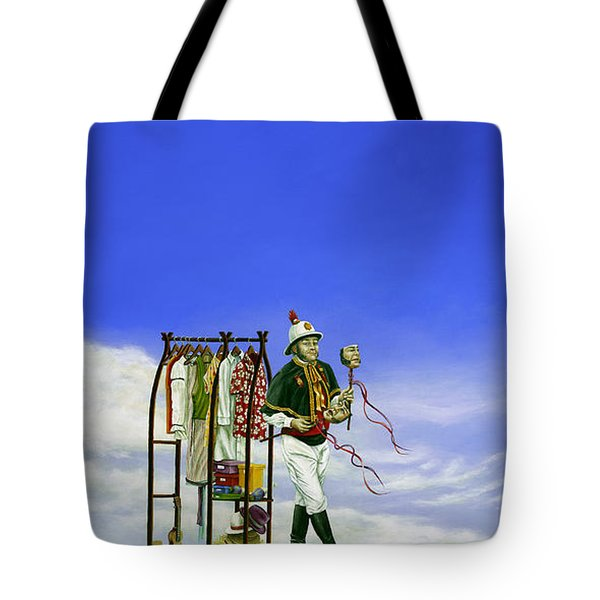 The Journey Of A Performer Tote Bag by Cindy D Chinn