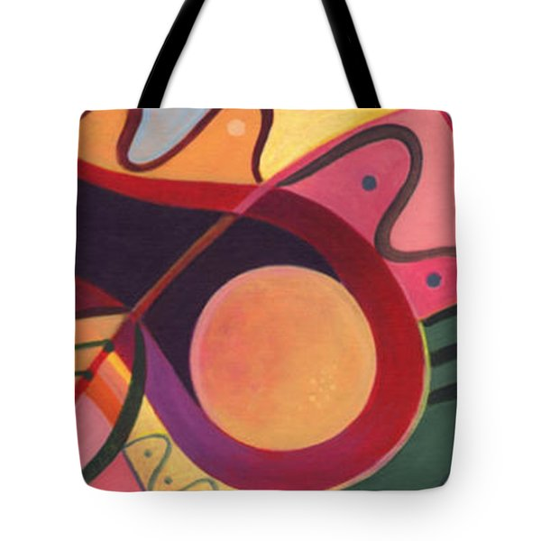 The Joy Of Design Triptych Tote Bag by Helena Tiainen
